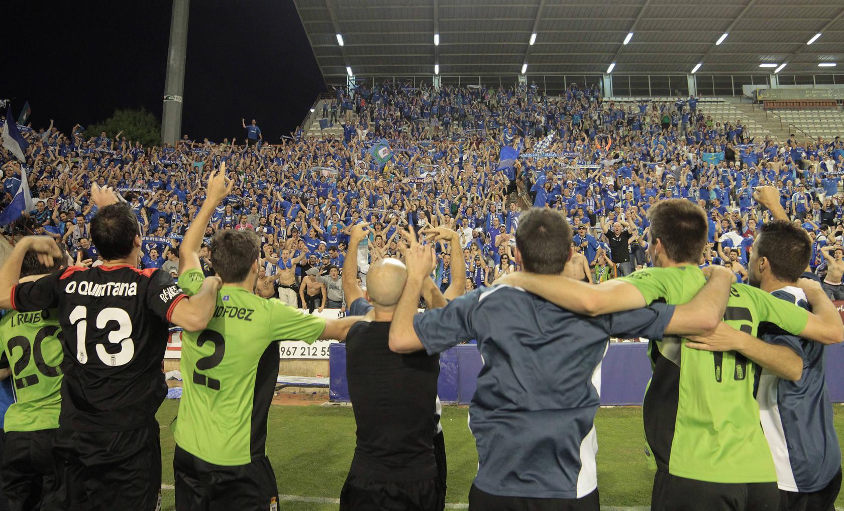 Las mejores imágenes del partido del Oviedo en Albacete