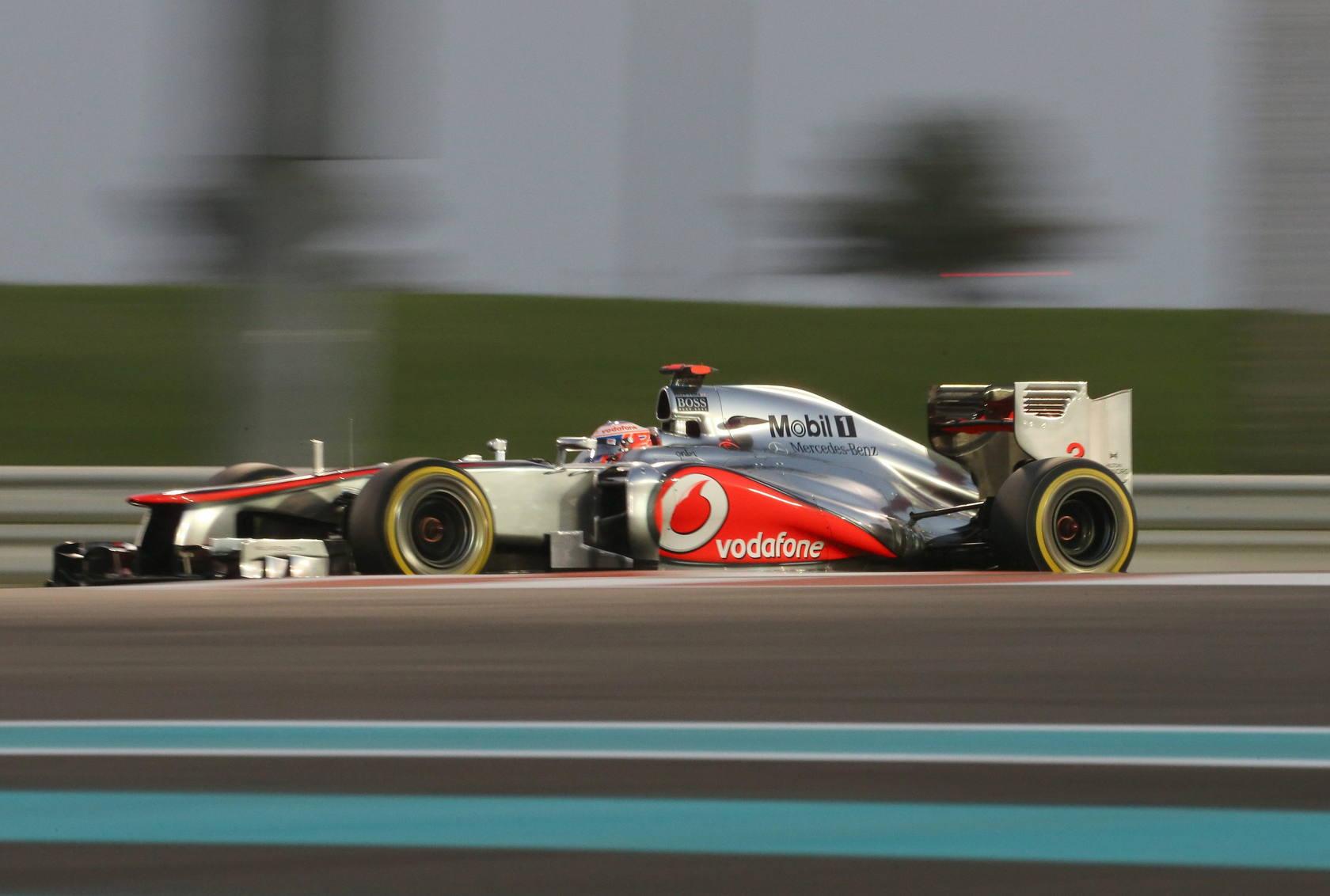 Pruebas de clasificación en el Gran Premio de Abu Dabi