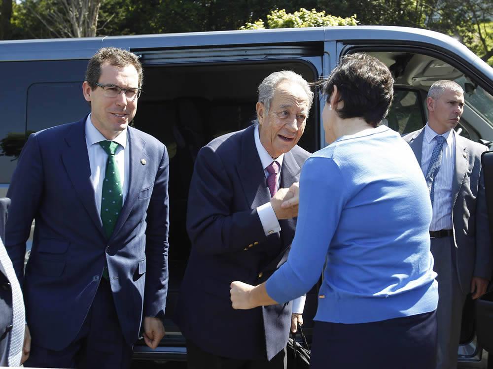 Villar Mir visita la Milla del Conocimiento de Gijón