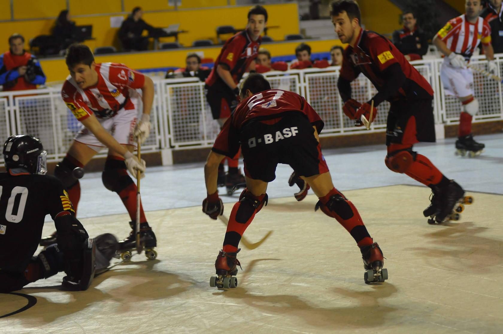 Primera jornada de hockey en Oviedo