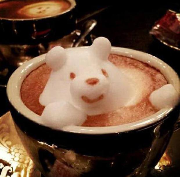 El impresionante 'latte art' de Kazuki Yamamoto