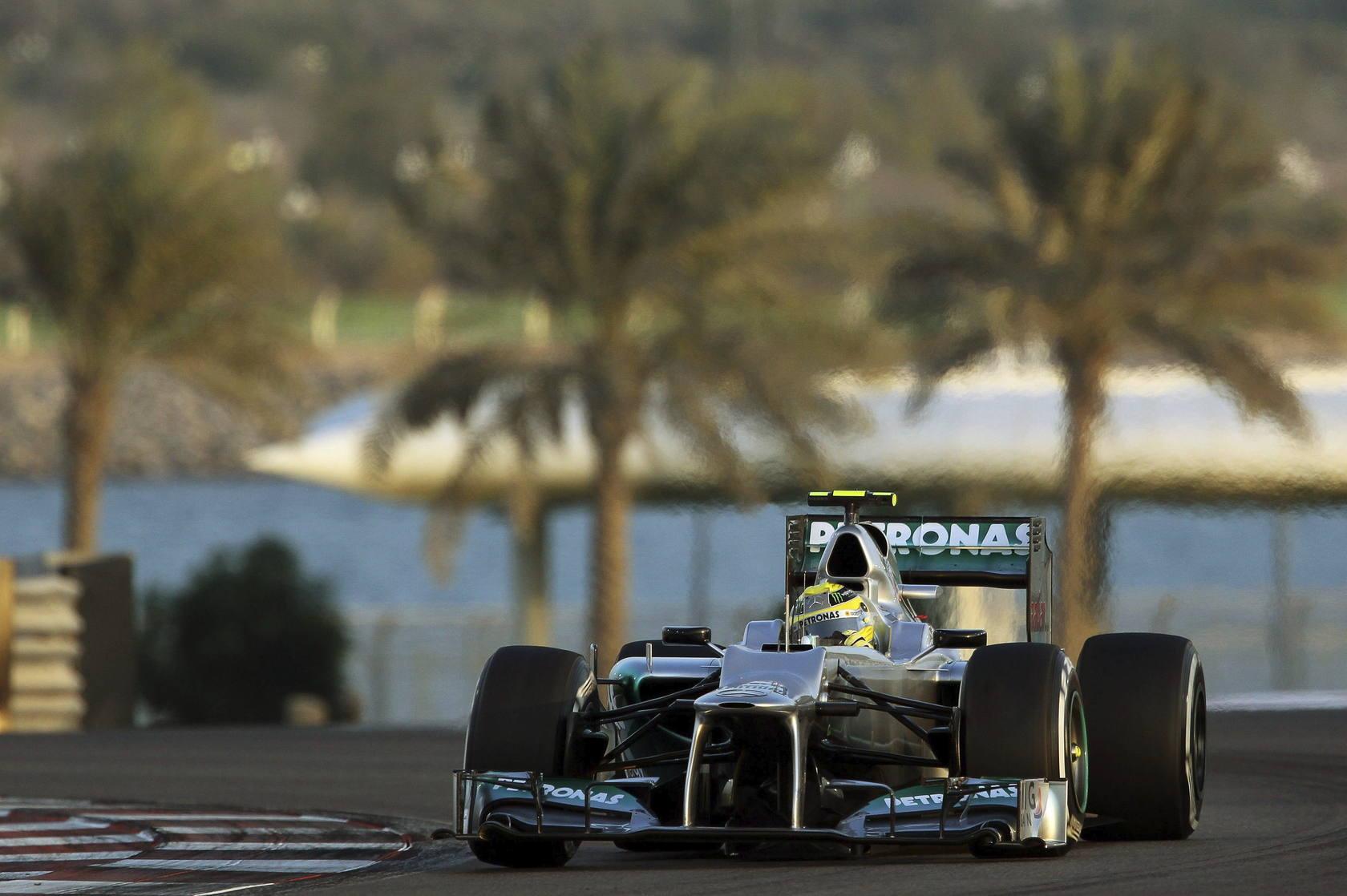 Entrenamientos libres del Gran Premio de Abu Dabi de Fórmula Uno