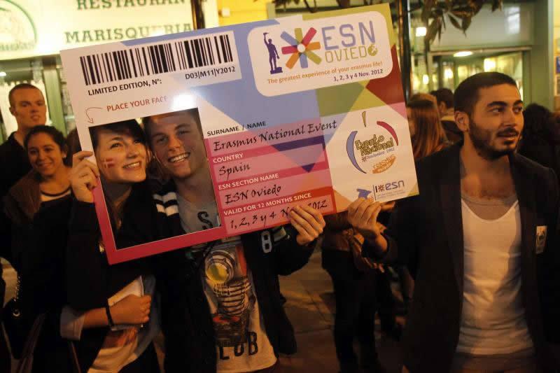 Gascona se llena de Erasmus