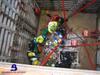 Rescate de un trabajador en Ribera de Arriba tras caer en una arqueta de 7 metros